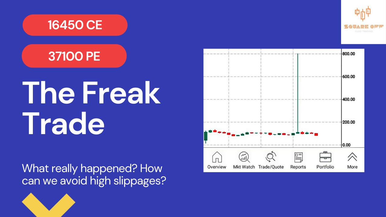 how to avoid freak trade