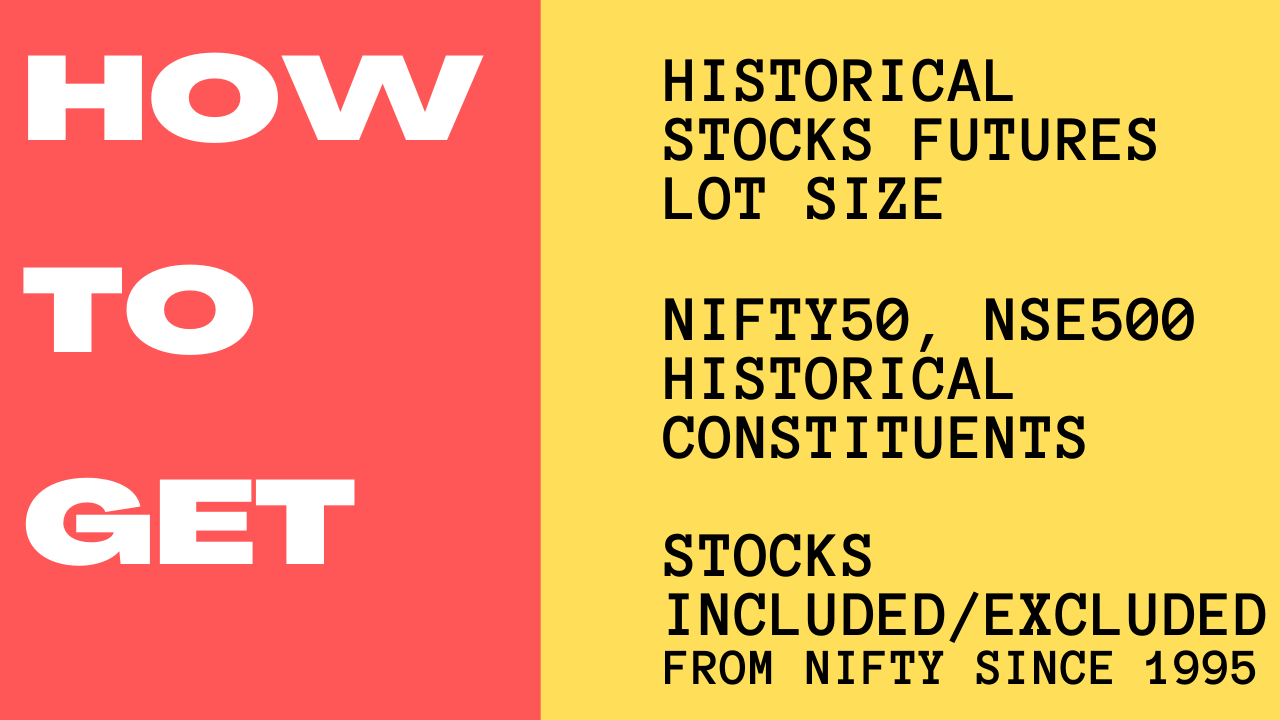 How to Get Historical Stocks Futures lot size